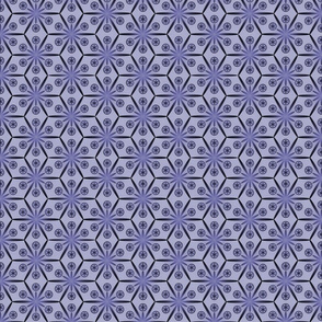 Hex Flake-Blue/Grey