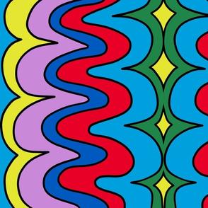 crazy big squiggly lines