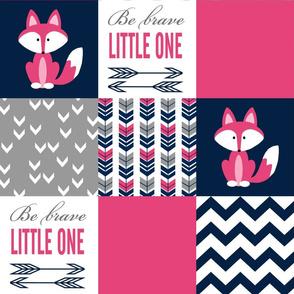 Pink Fox Patchwork