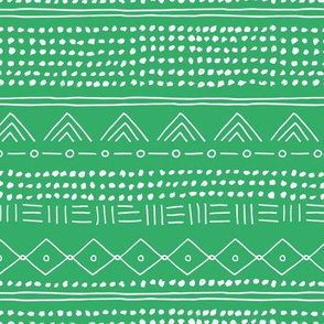 Minimal Irish mudcloth St Patrick's Day bohemian mayan abstract indian summer love aztec design apple green