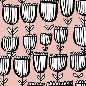 Sweet Tulips blush pink