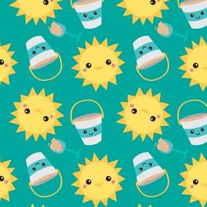 Fun In the Sun Teal