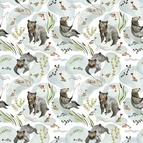 Black Bear_fabric