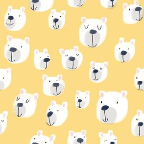 Smiling Bears Yellow