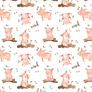 Muddy Little Pigs