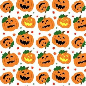 Halloween Jack O'Lantern Pumpkins