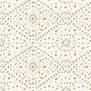 Boho Modern Diamonds Wallpaper