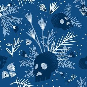 Skull Botanical