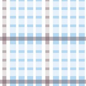Pretty grid-blue