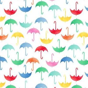 Umbrellas multi small scale