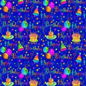Happy Birthday! Blue/Smaller