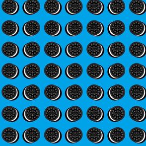 cookies and creme - medium blue