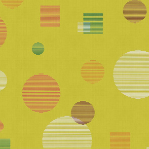abstract minestrone linen