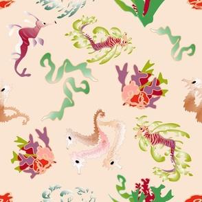 coralreef fish blue