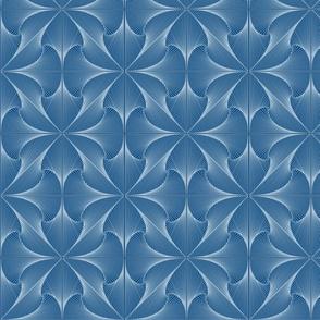 Organic Geometry in Blue