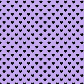 Heartshaped Lilac Black