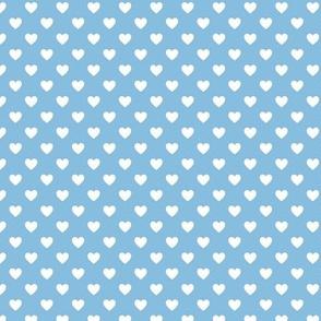 HeartShaped Dots Blue