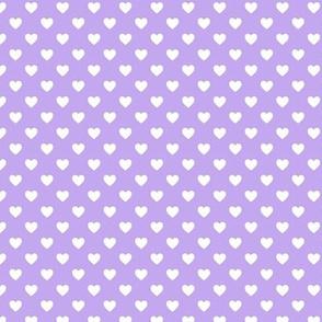 HeartShaped Dots Lavender