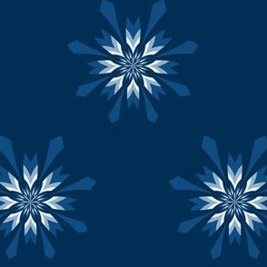 classic blue - flower