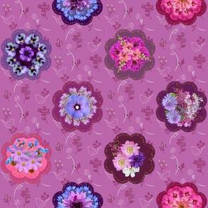 Vintage Floral Brooches