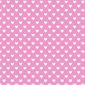 HeartShaped Dots Pink