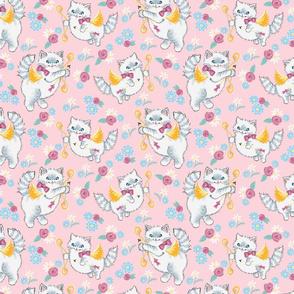 Cupid Kitsch Kittens