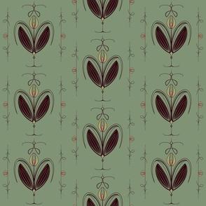 Tulip Nouveau - Green