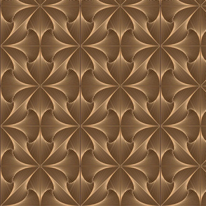 Organic Geometry in Sepia