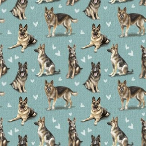 The GSD German Shepherd Dog