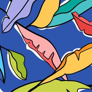 Tropifari Leaves (Blue)