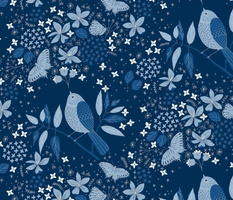 Blooming Melody Classic Blue