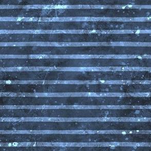 Smaller Watercolor dark blue and light blue sea stripe