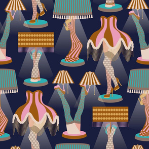 Kitschy leg lamps / Large scale