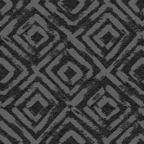 On Point Grunge - Black/gry