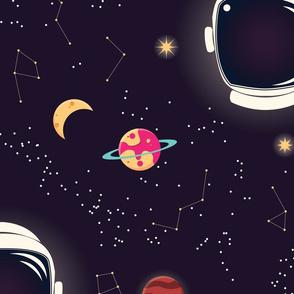 Universe Galaxy Pattern 003