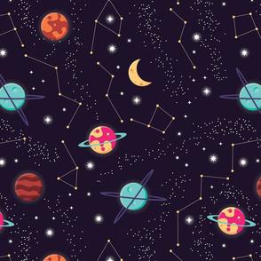 Universe Galaxy Pattern 004