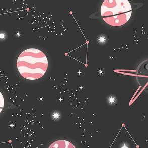 Universe Galaxy Pattern 007