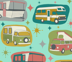Vintage Kitsch Campers