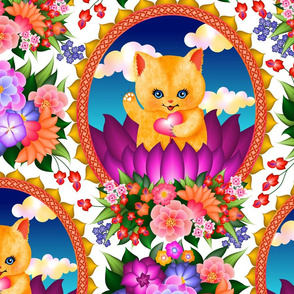 blessed are the kitschy kitties