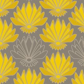 Art deco Lotus