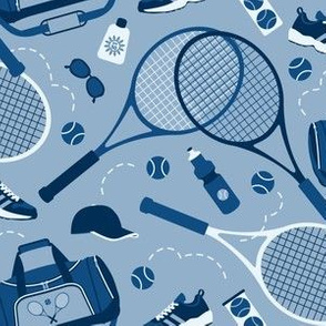 Tennis Gear in Blue