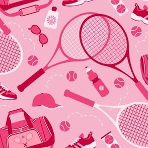 Tennis Gear in Pink