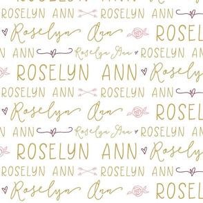 custom baby name girl- Roselyn Ann-01