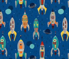 Out of this World: Retro Rockets, Fantastic Flyers and Lunar Landers // Lost in Space // Astro Blast Off // Moon Ships, Space Patrol, Outer Space, Planets, Stars, Space Shuttle, Astronaut, Vintage Toys, Kitsch, Collectibles, Boys, Girls, Kids Room Decor