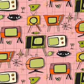 Retro Tv Pink