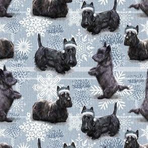 The Christmas Scottish Terrier Scottie Dog