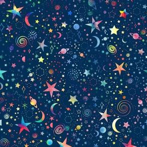 Rainbow Universe- smaller scale