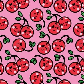 aloha cherry on pink