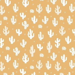 Raw western indian summer cactus garden soft nursery honey yellow