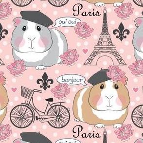guinea pigs in paris